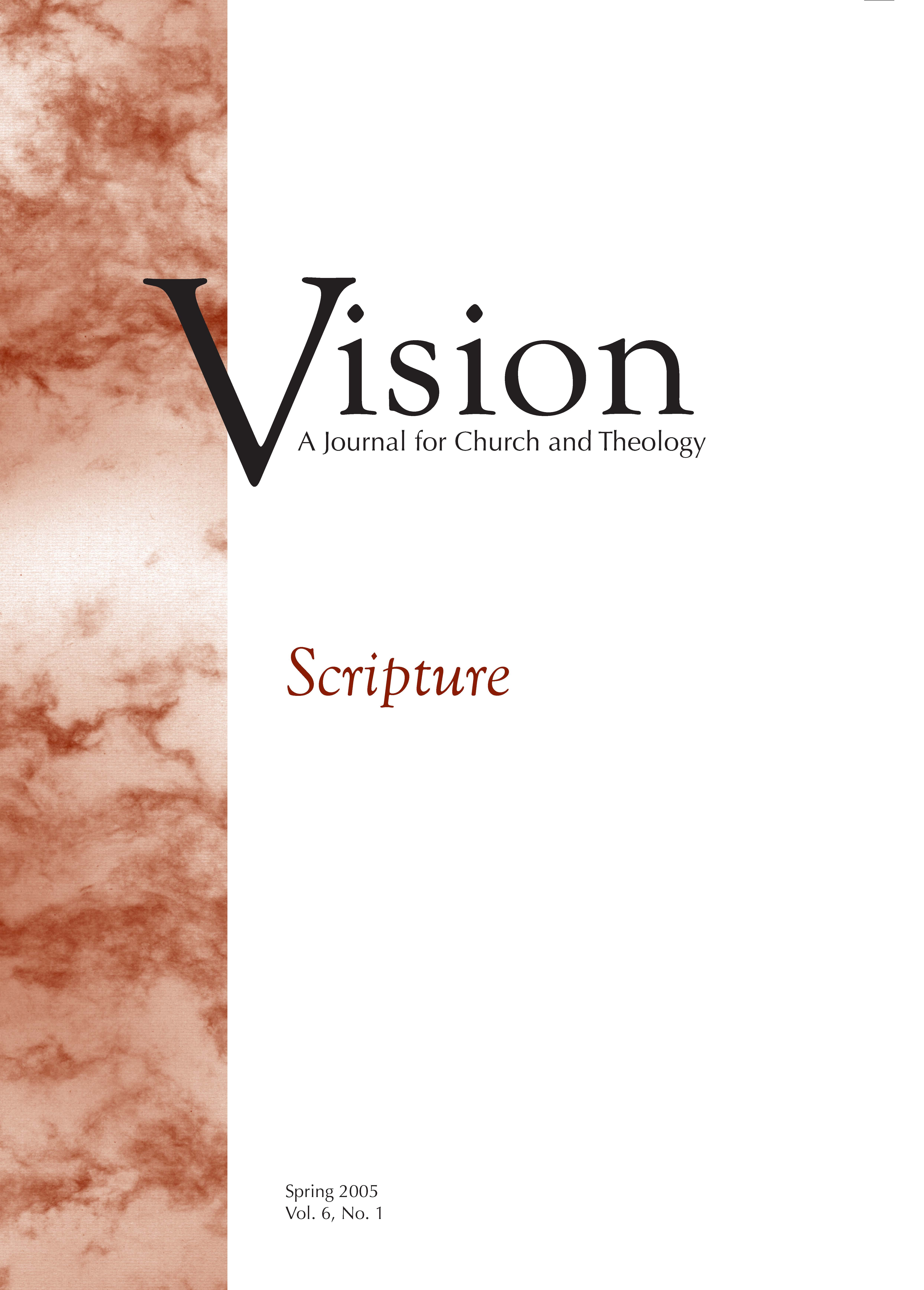 vision cover scripture
