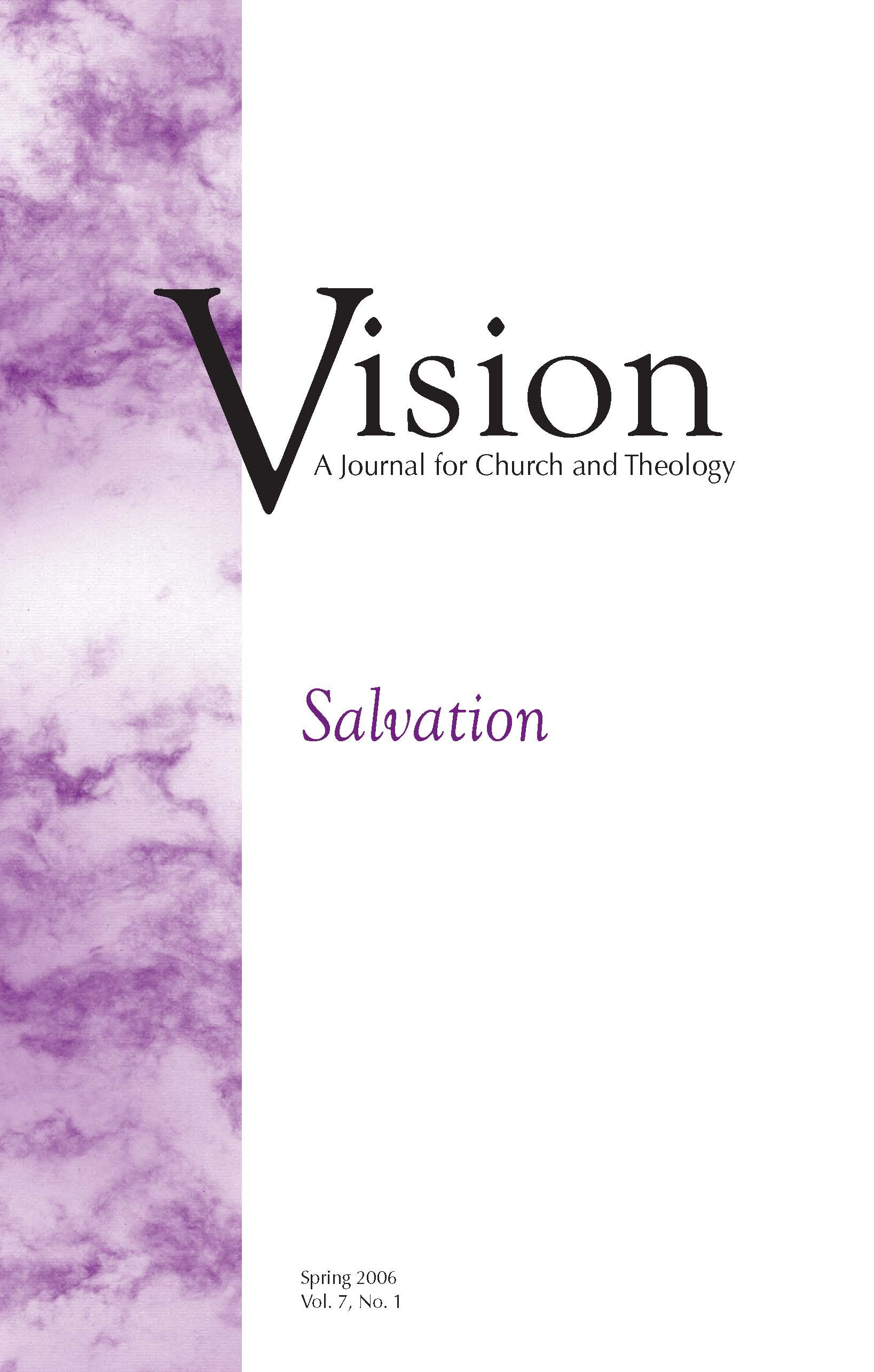 vision cover salvation