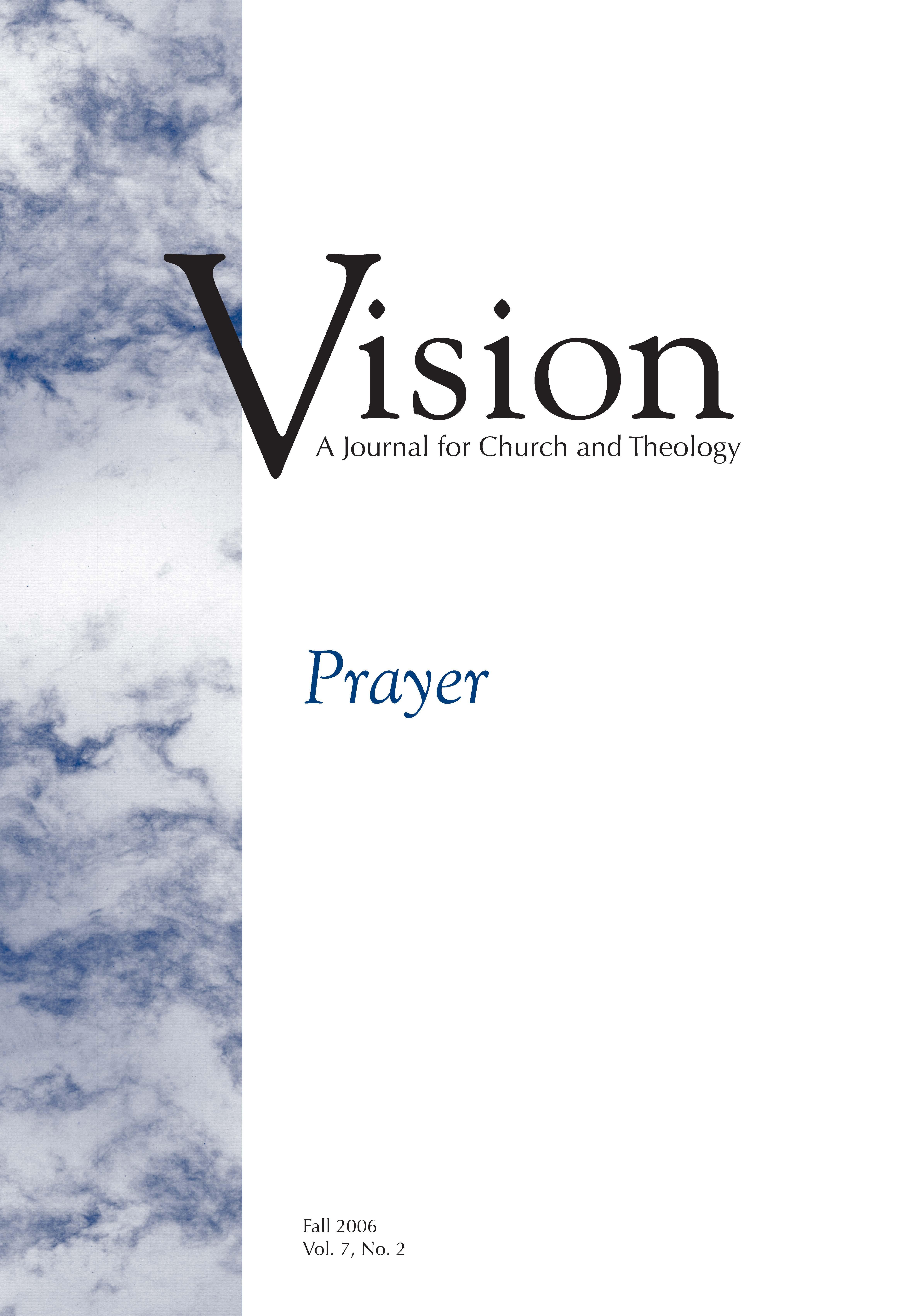 vision cover prayer