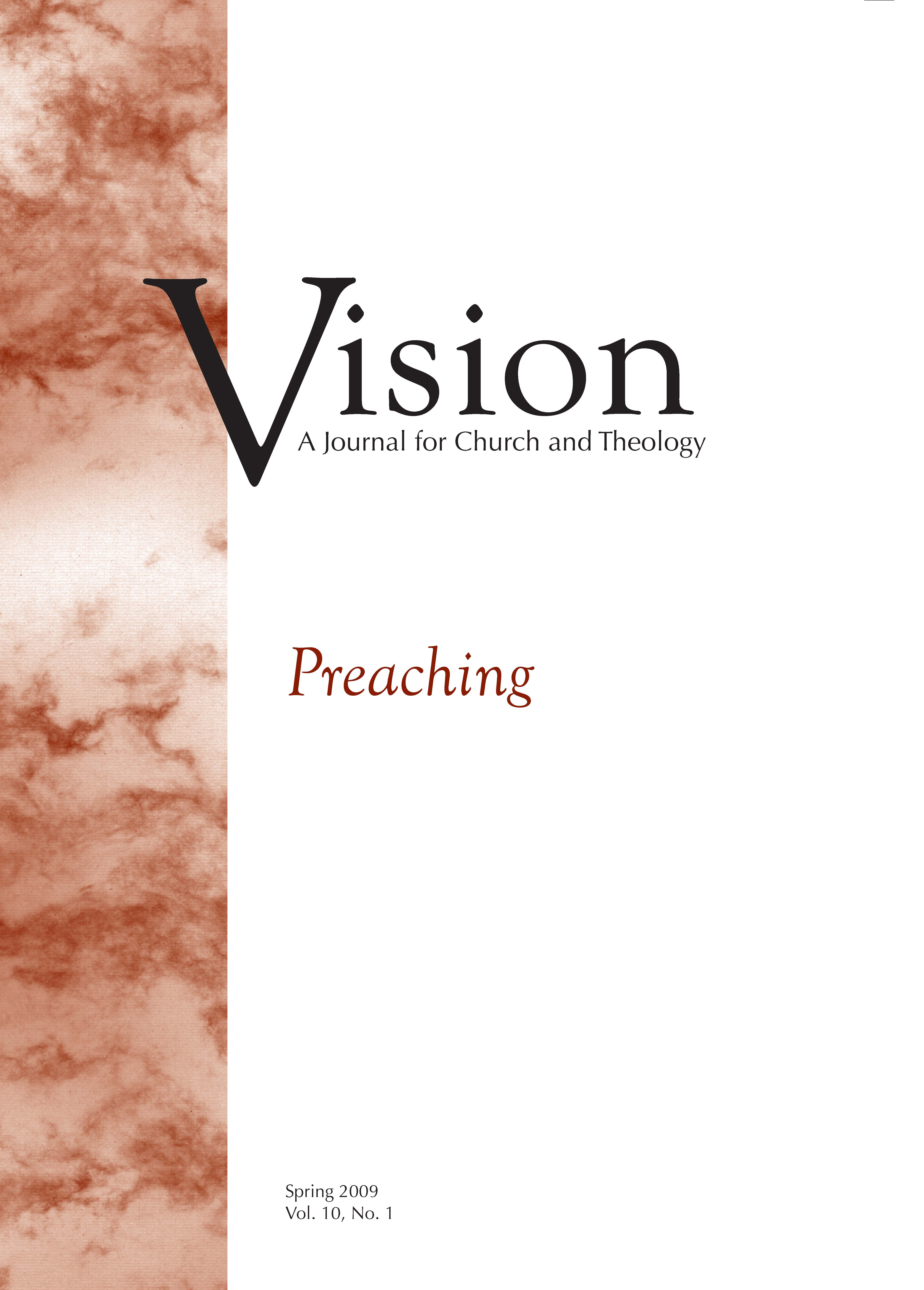 vision cover preaching