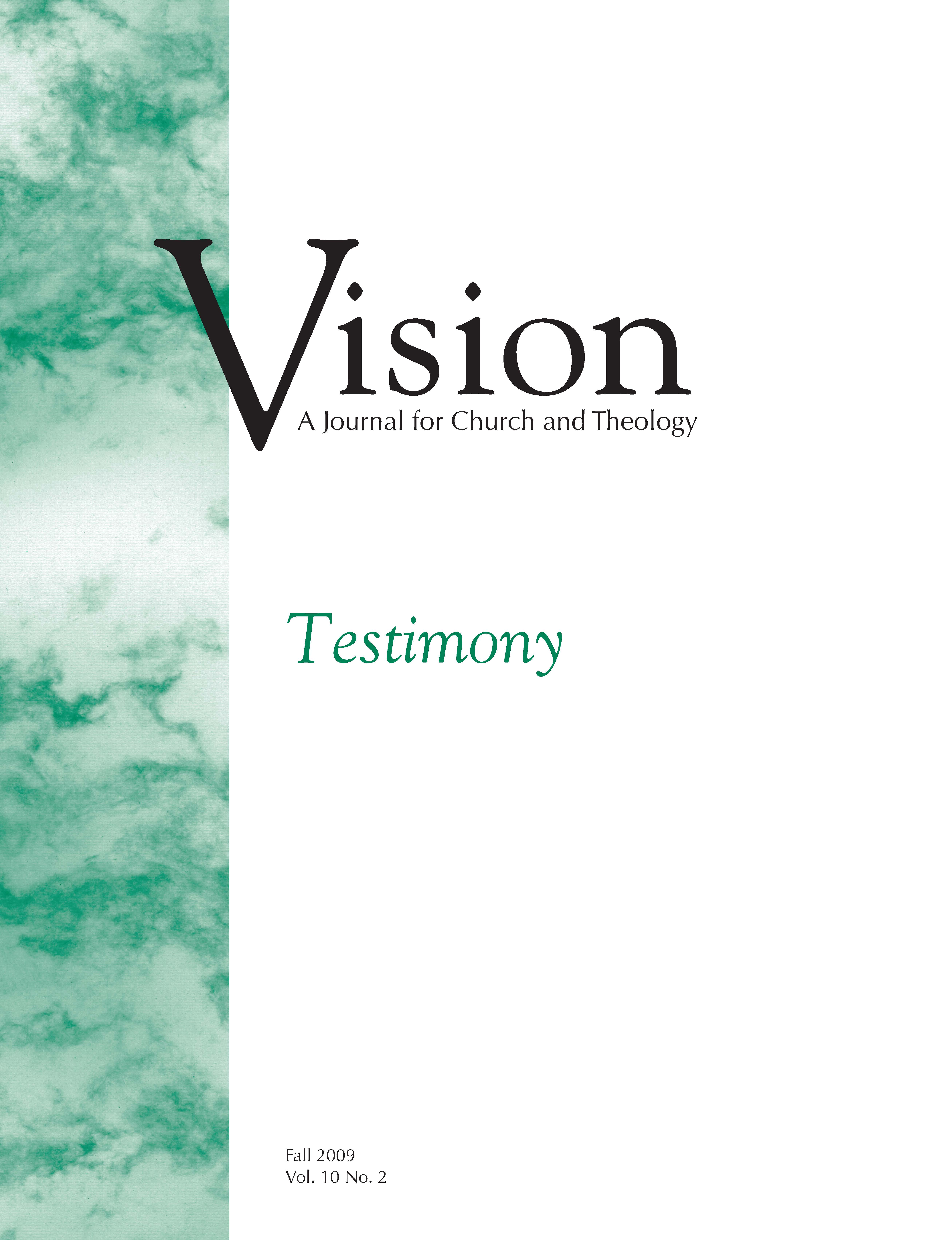 vision cover testimony