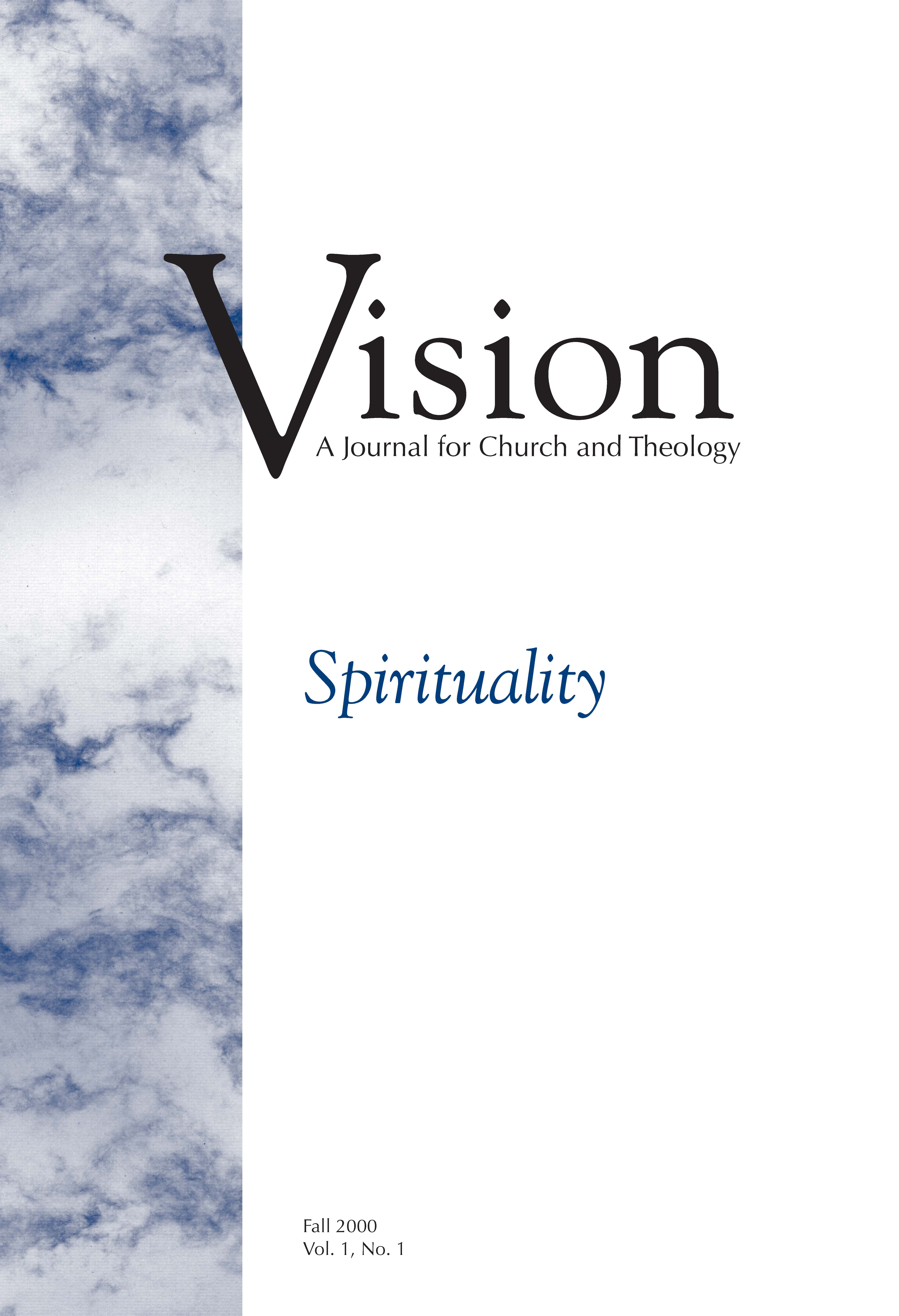 Vision cover spirituality