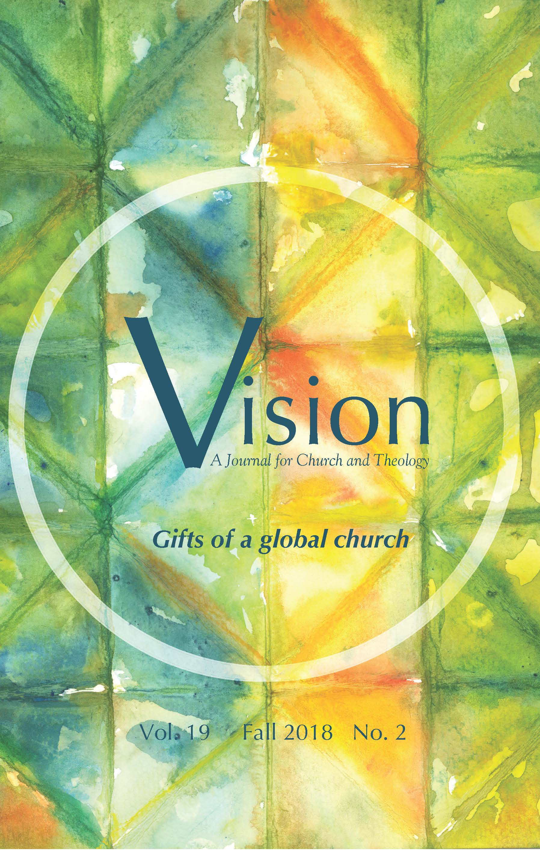 View Vol. 19 No. 2 (2018): Gifts of a global church