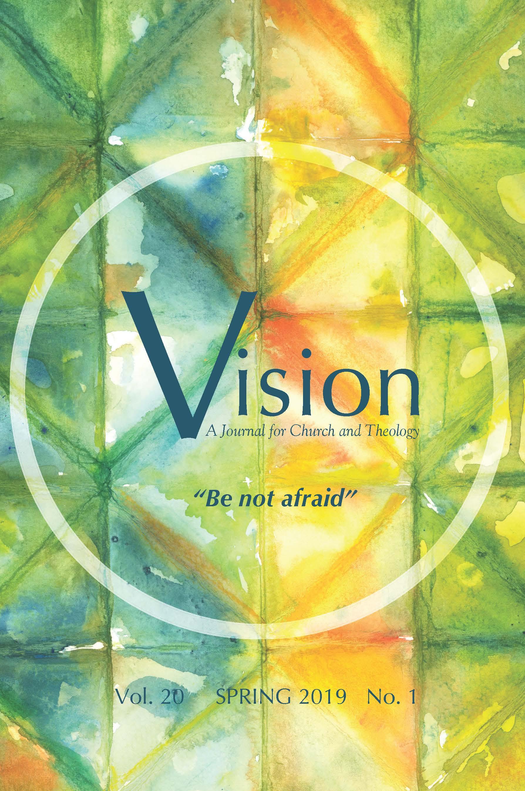 View Vol. 20 No. 1 (2019): Be not afraid