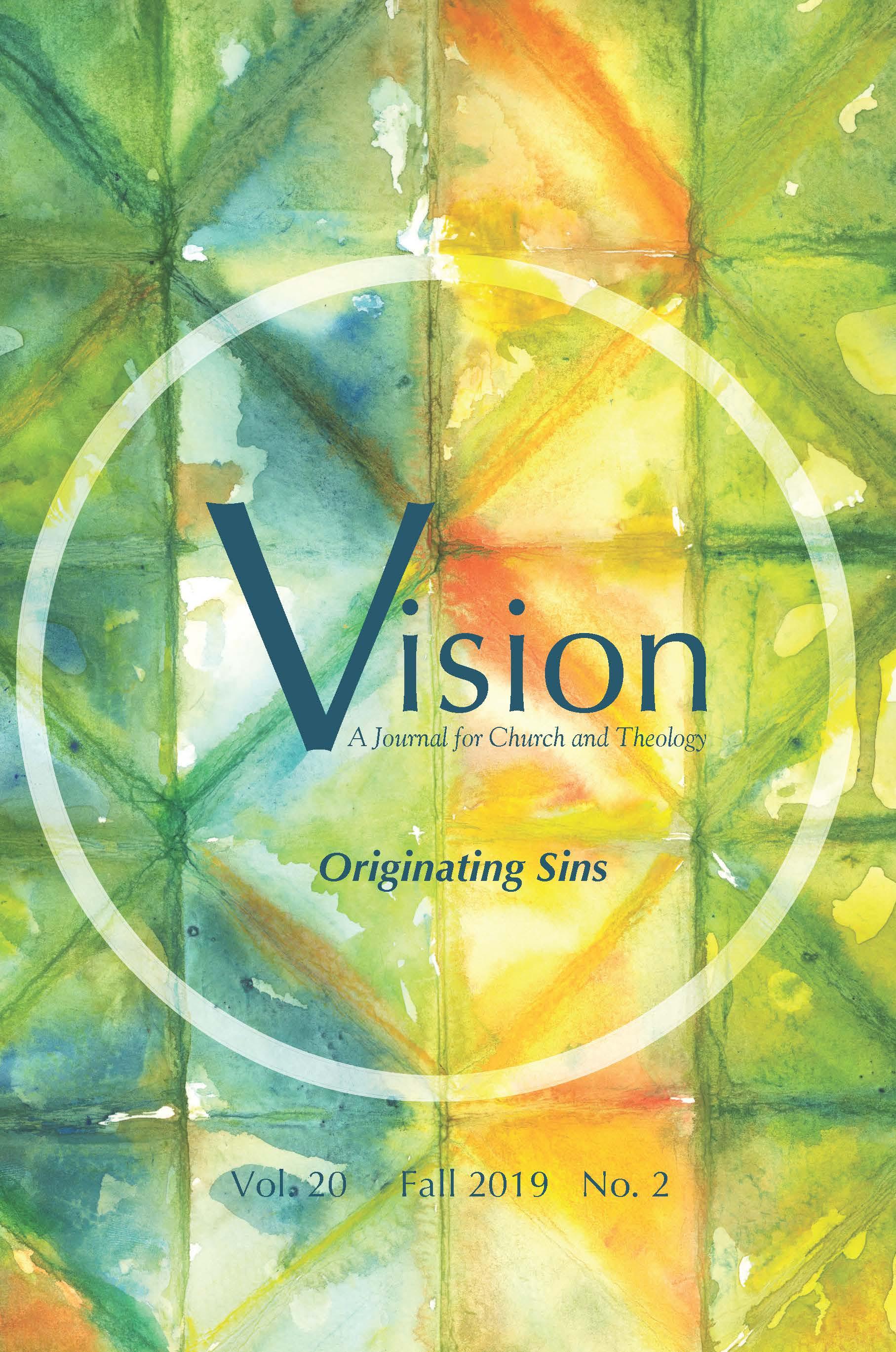 View Vol. 20 No. 2 (2019): Originating Sins