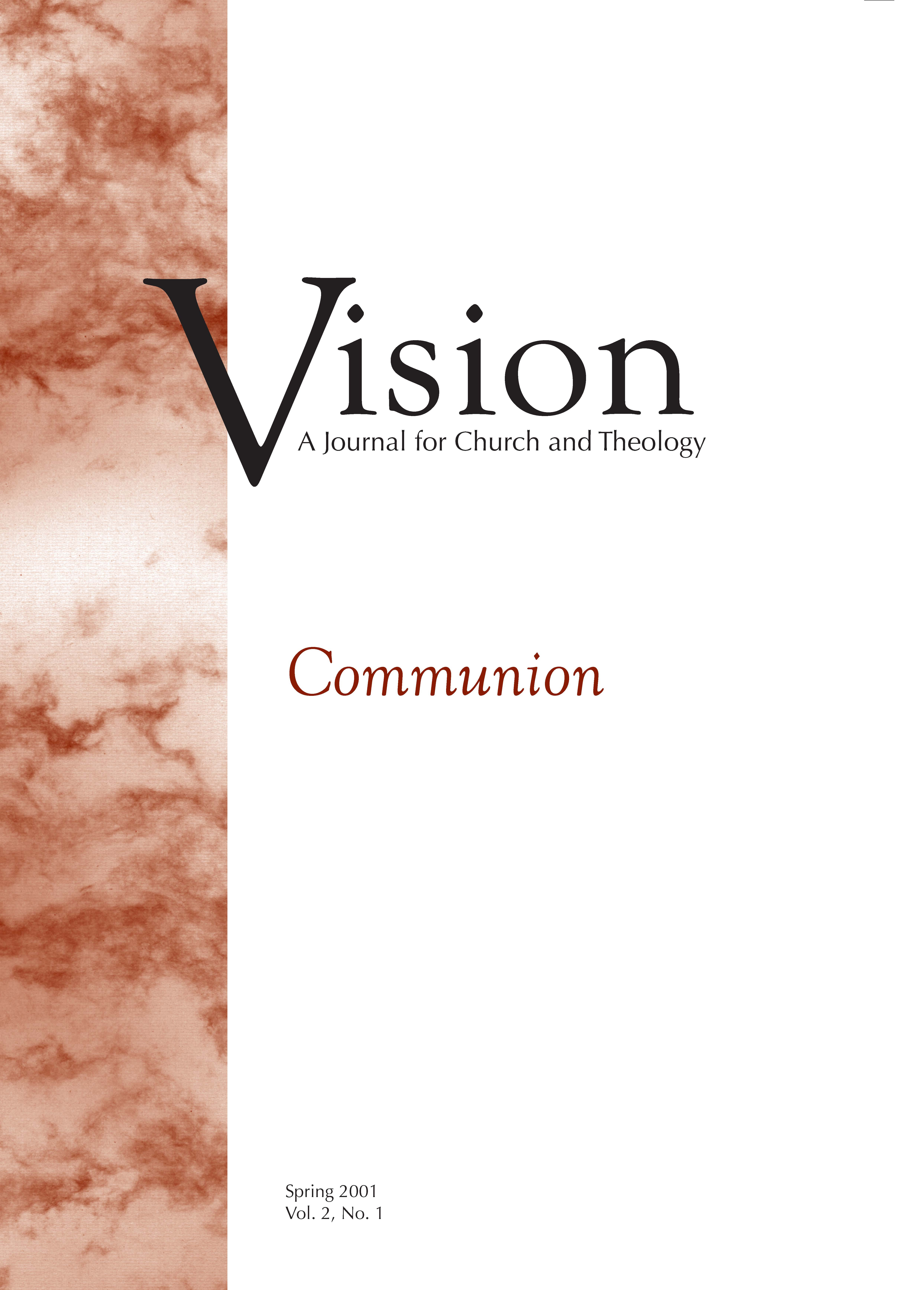 vision cover communion