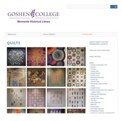 Quilts from College Mennonite Church Screen Shot